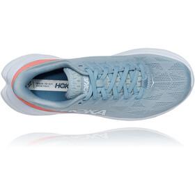 Hoka One One Mach 4 Scarpe Donna, blue fog/hot coral